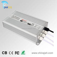 waterproof power supply 12v 200w IP 67 with CE /ROHS and FCC