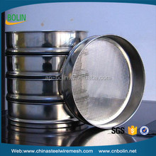 Alibaba China 304 stainless steel mesh sieves for home ground wheat flour in stock