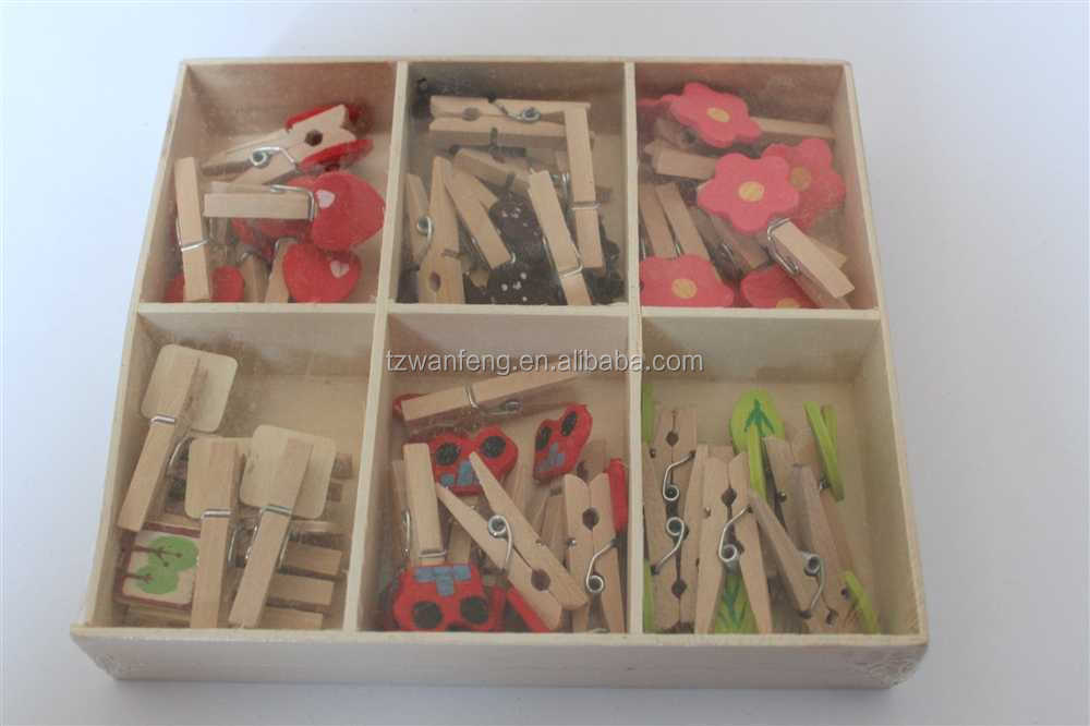 2014 top selling wooden clip salon hair clips