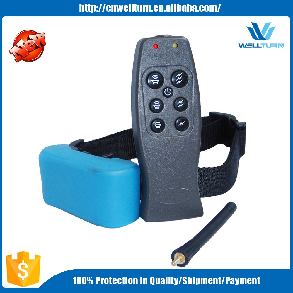 Professional Dog Training Collar Pet Item Power Electronic Training Bark Control