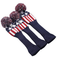 Custom Made Oversized Putter Wool Knitted Golf Driver Head Covers
