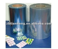 High quality Pharmaceutical grade colorful hard PVC film