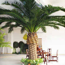 Artificial Tropical tree great for tropical theme silk tree big broad leaf artificial date palm tree