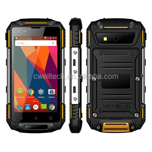 IP68 Waterproof Rugged Smartphone Uphone S950 4G LTE Smartphone Support NFC OTG Android 5.1 quad core 4.5 Inch 1GB/8GB Unlocked