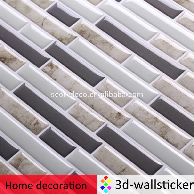 Factory price peel and impress vinyl material decoration for home for living room