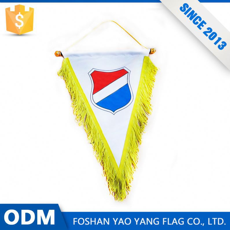 Sport Club Pennant Flag Custom Mini Hanging Sports Pennants