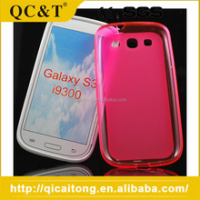 2015 Popular Design Waterproof Pudding Tpu Phone Case For Samsung I9300