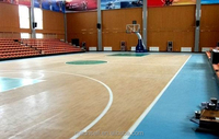 Basketball Sport Court Synthetic PVC Flooring or Vinyl Surfaces flooring