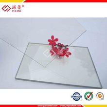 Yuemei clear polycarbonate solid sheet balcony roofing coverings