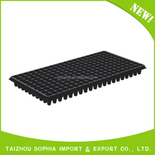 Good price new style best sell black hips plastic seed trays