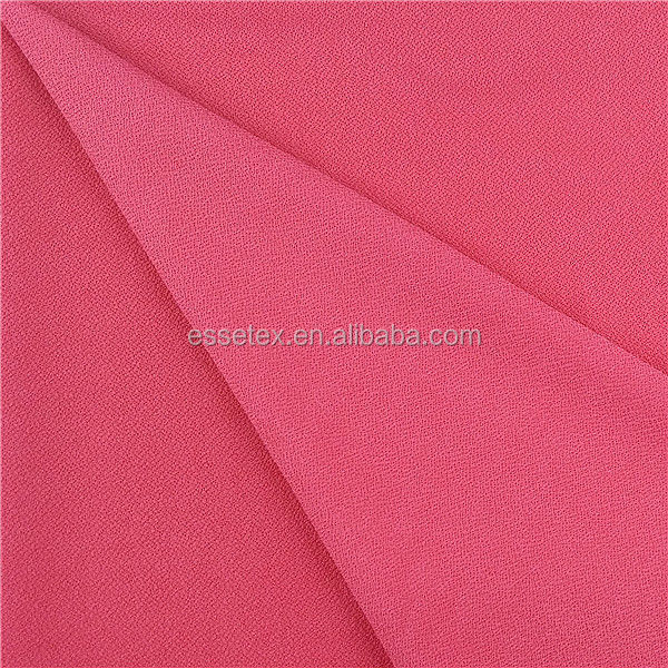 hot selling knitted double jersey two side moss crepe fabric for garment