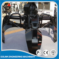 widely used hydraulic rotator grapple for excavator,grapple machine