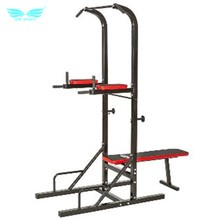 Indoor Adjustable Chin Up Pull Up Bar Strength Fitness Power Tower Home Fitness Tool
