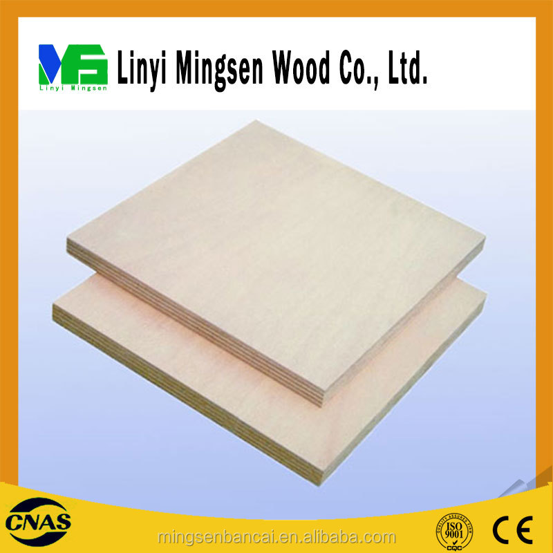 Hot sale Cheap 18 mm commercial plywood / melamine faced plywood / birch plywood price