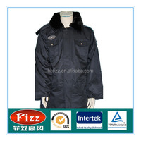Security overcoat in stock