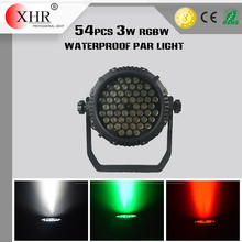 54x3W RGBW Waterproof Moving Light LED Par Light Dome IP65