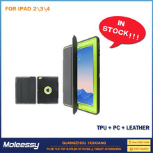 Good price universal smart glass fiber cover for ipad2/3