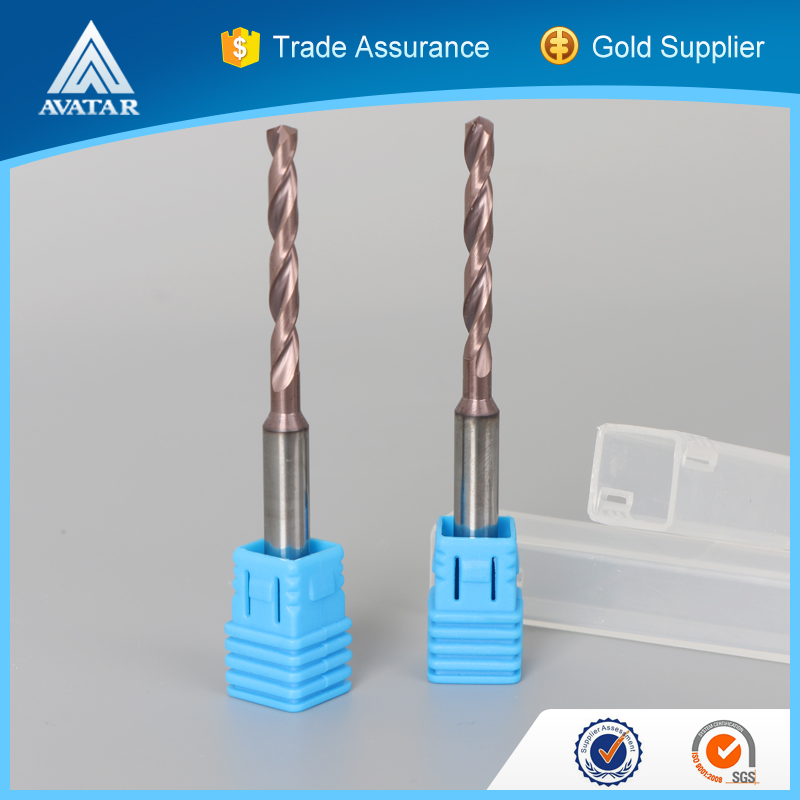 Metal alloy tungsten solid carbide 2 or 3 taper shank helical flute twist square hole drill bit set