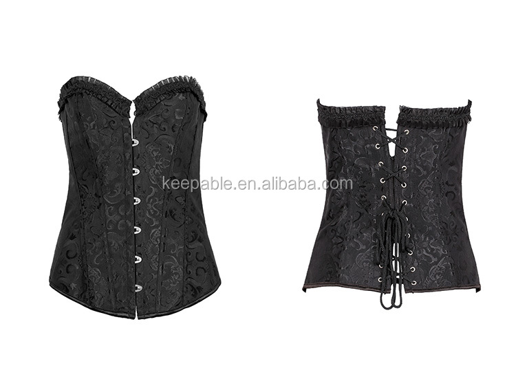 Fashion Womens Sexy Cheap Vintage Gothic Waist Training Waist Trainer Bustier Corsets