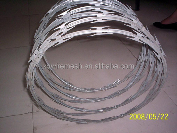 BTO-22 concertina razor barbed wire