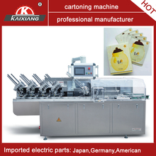 carton folding and gluing machine