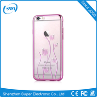2016 Factory OEM Ultra-thin PC Crystal Clear Phone Cover for iPhone 6 6plus, Crystal Phone Case for iphone 6 6plus