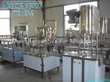 2000-4000bph small business plastic bottled pure water product line
