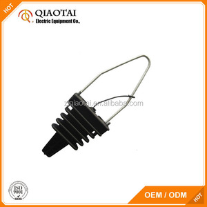 Insulated dead end adss cable tension clamp