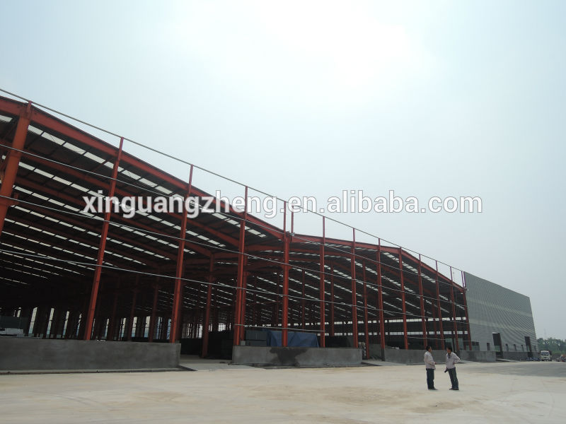 Low Cost Prefabricated Lightweight Steel Construction Hall
