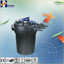 GS/CE Koi pond bio filter for fish farm water pond pumps filter