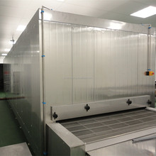 iqf tunnel industrial freezer for fish prawn squid and shrimp with quick freezing