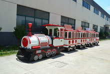 Suzhou tourist train, elelctric trackless fun train, trackless sightseeing train
