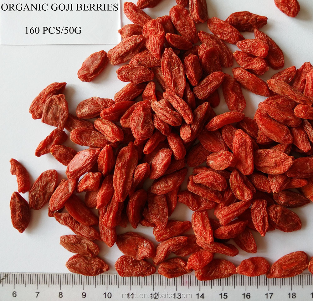 Health food dried fruit price/organic goji berries price