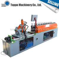 Automatic metal stud and track roll forming machine