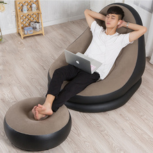 Wholesale Hot selling fashion comfortable novelty PVC inflatable chair air lazy sofa