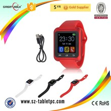 Wholesale price cheap bluetooth smartwatch hand free watch phone U8 colorful sports watch