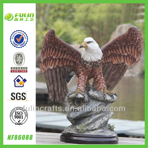 Large Home Resin Eagle