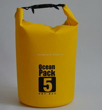 Outdoor sports 500D PVC floating waterproof dry bag with custom logo