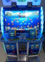 2016 New Design Fish Hunter Game Machine Operated with Coins