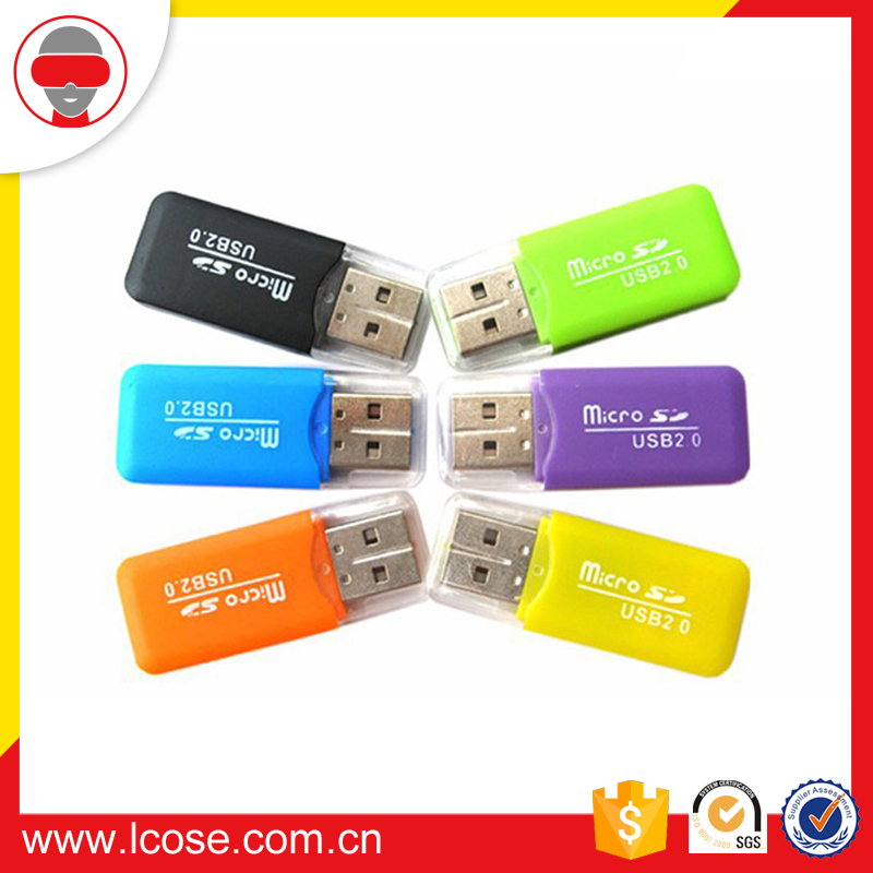 2016 trending hot products usb2.0 card reader for data