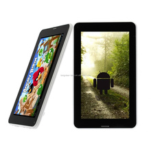 android dual core tablet 7 inch 3g built-in 1G/8G GPS FM BT MTK6572 or 8312 0.3M/2.0 camera