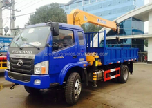 Foton 8ton heavy crane truck price with good quality chassis with best price in china