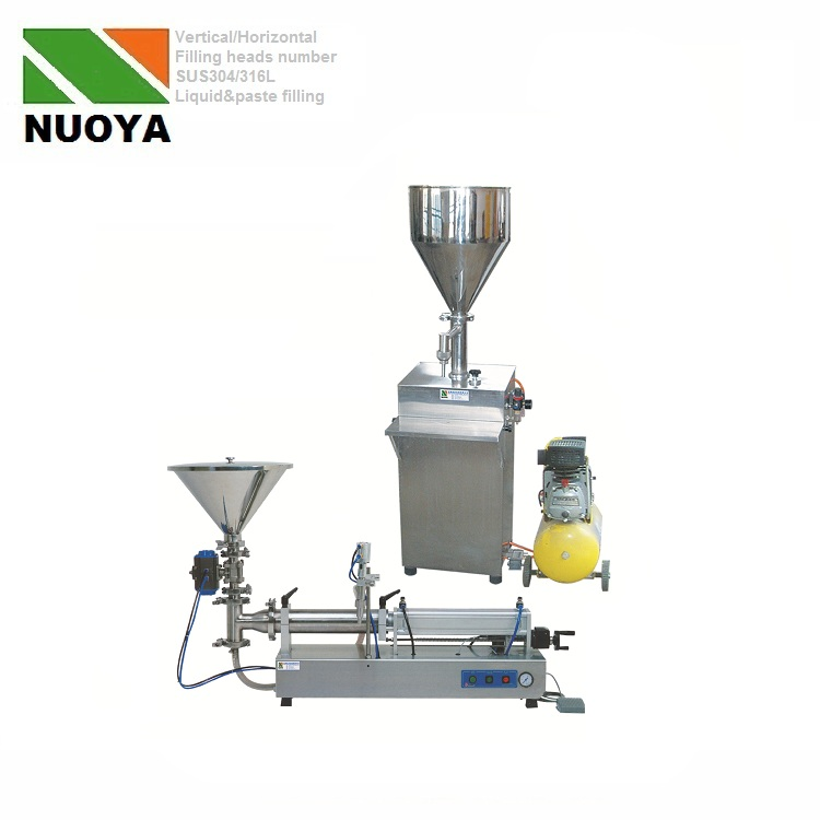 Liquid filling and paste filling type Beer filling machine