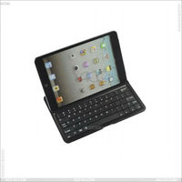 Aluminum Protector Case With Bluetooth Keyboard for iPad Mini P-iPDMINIBTHKB001