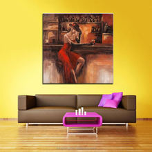 New Style Sexy women dafen oil painting Fabric Designs Handmade Artwork Painting on Canvas