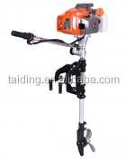 Low price outboard motor for inflatable boat,air-cooled gasoline boat engine