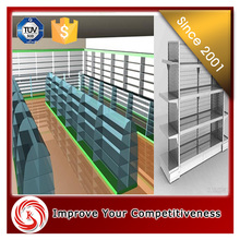 Supermarket clear environment fruit and vegetable display stands and cabinets