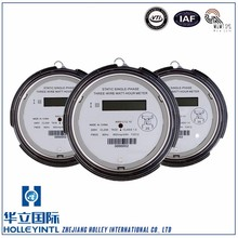 Optional setting Of measuring mode Single Three Phase Electric Meter Case