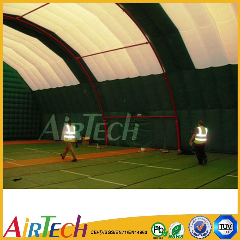 Hot Sale good design inflatable tennis court tent for outdoor sport