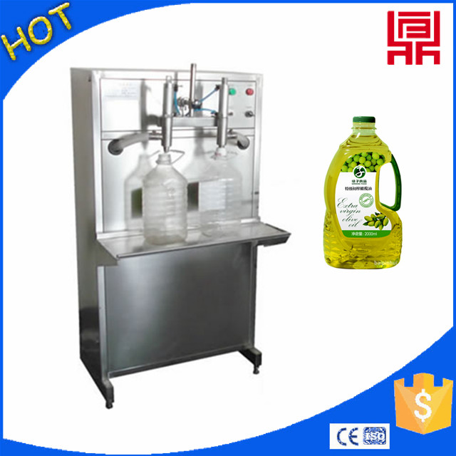 wholesale price double nozzles cooking oil/olive oil/oil filling machine